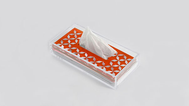 CLEAR tissue holder
