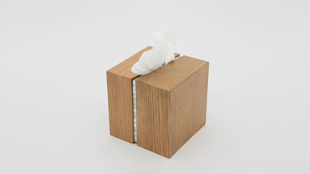 DRAW THE LINE tissue holder