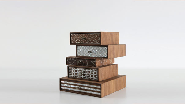 PATCHWORK stackable drawers