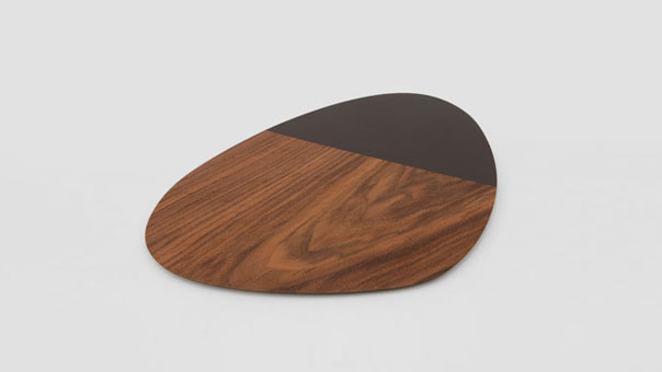 PEBBLE COLOR platter