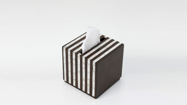 STRIPES tissue holder