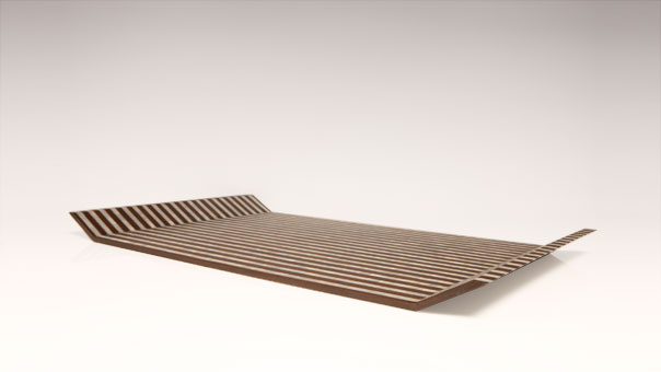 STRIPES wing tray