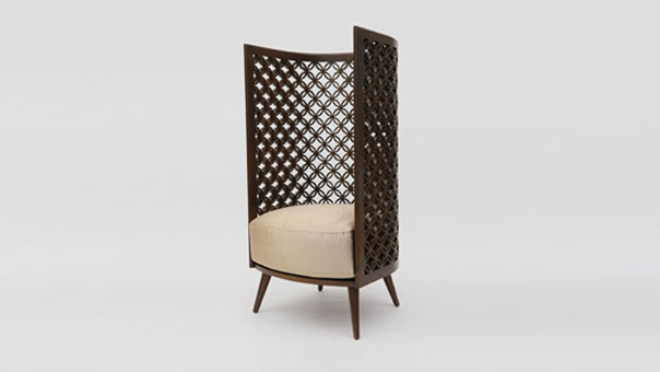 ARABESQUE HIGH armchair