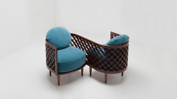 ARABESQUE love seat