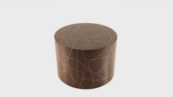 DRUM occasional table