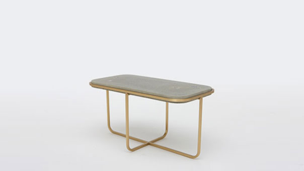 CONCRETE PEARL Occasional table