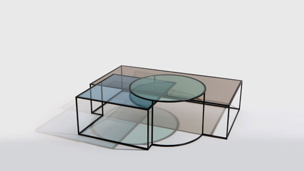GEOMETRIK low table
