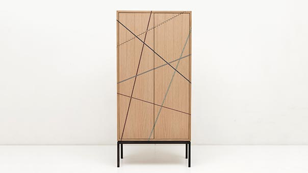 MARQUETRY MANIA cabinet