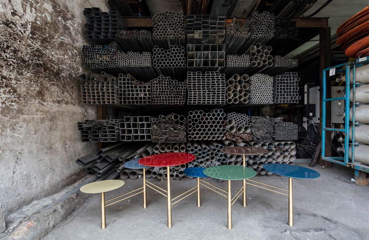 Pebble Low Table Tapis De Orient