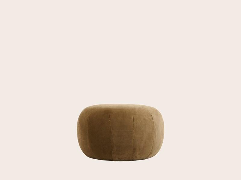 Circle Pebble Ottoman