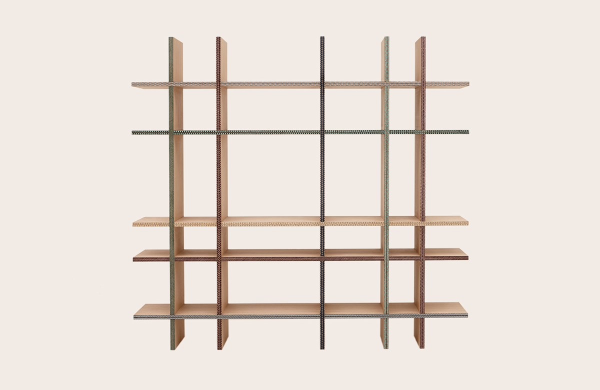 Criss-Cross Shelf