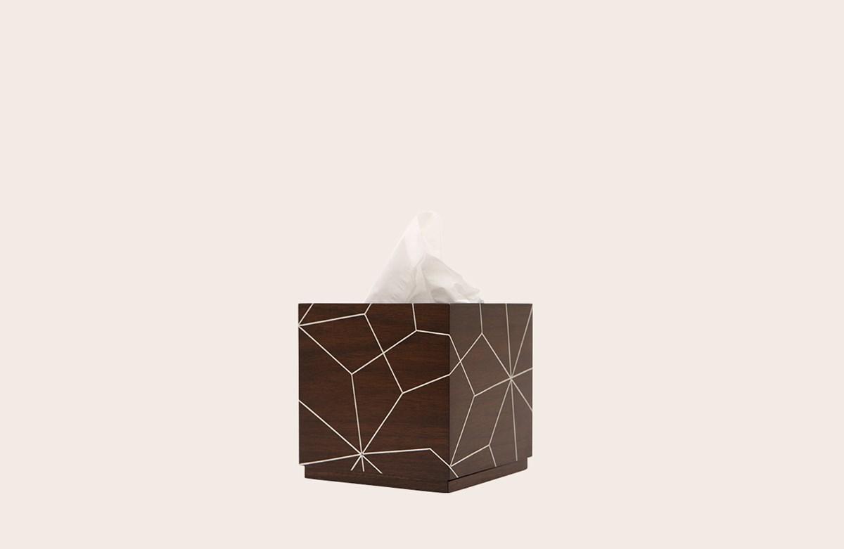 Arabesque Tissue holder