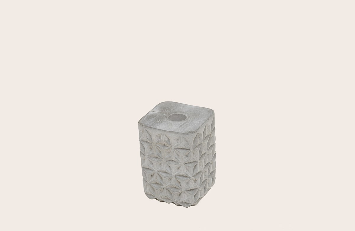 Concrete Candle Holder