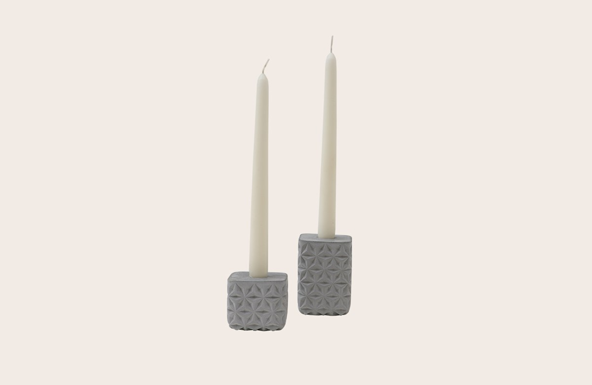 Concrete Candle Holder S