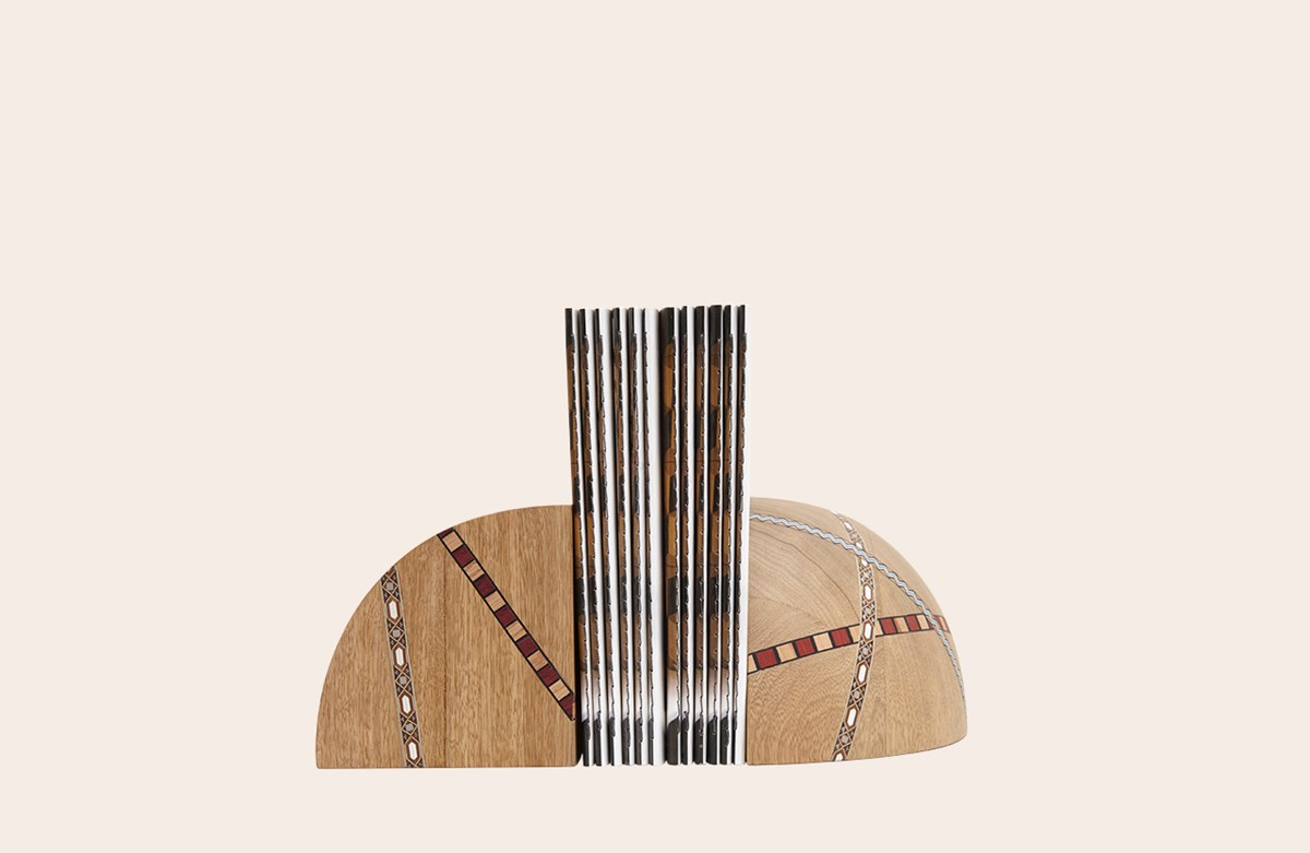 Marquetry Mania Bookstopper