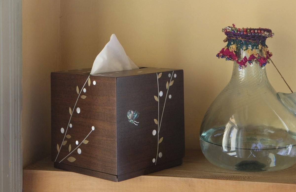 Butterfly Tissue holder